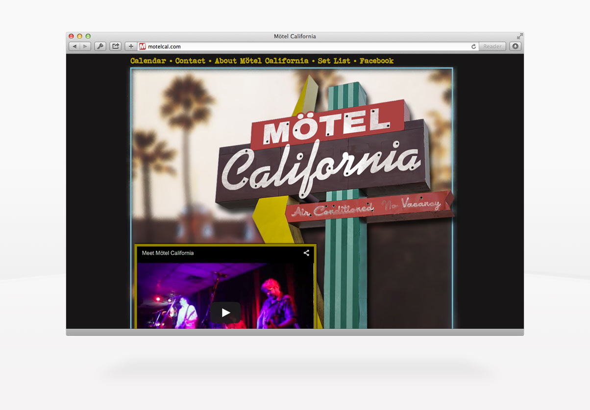DepartmentD.com - Motel California Homepage