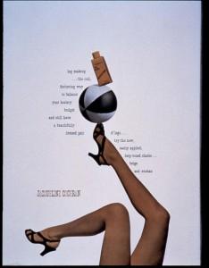Paul Rand - Jacqueline Cochran ad, 1943. Via Fast Company.