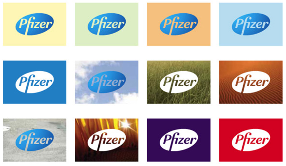 DepartmentD.com - Pfizer logo variations
