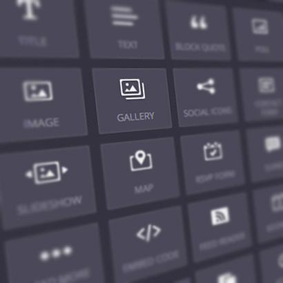DepartmentD.com - website builder drag and drop icons