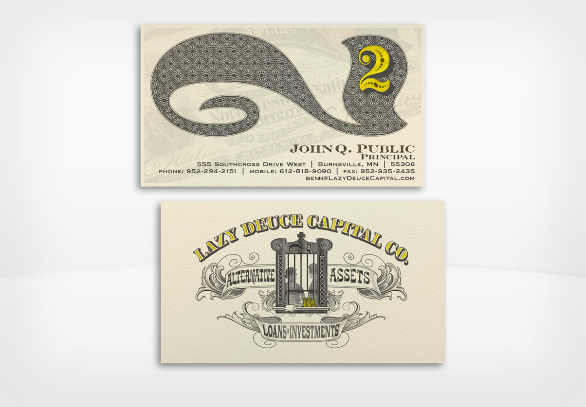 DepartmentD.com - Lazy Deuce Capital Business Card