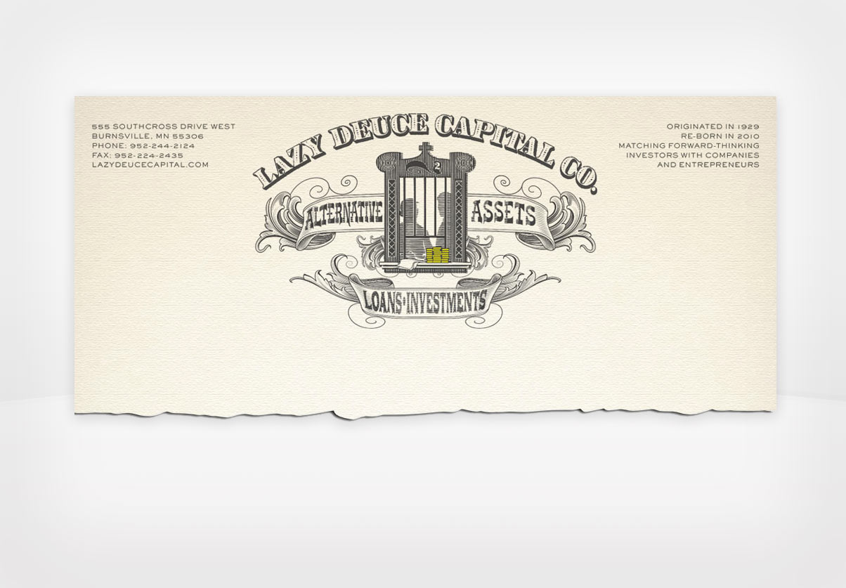 DepartmentD.com - Lazy Deuce Capital Letterhead