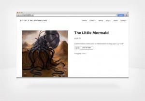 DepartmentD.com - ScottMusgrove.com-Store-The-Little-Mermaid