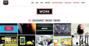 DepartmentD.com - UproarMusicAndSound.com - Work