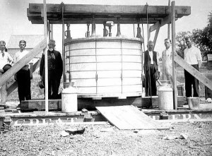A three-ton cheese, 1911. Smart marketing moves by Minnesota cheese makers.